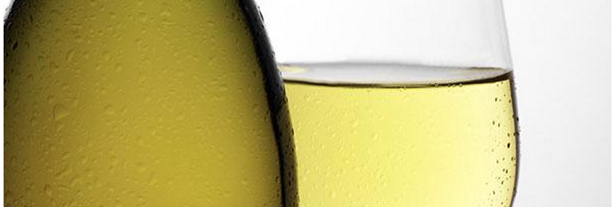 White Wine Closeup